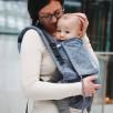 Limas Flex Ginko Emerald porte bébé physiologique en coton bio