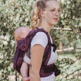 Limas Flex Mandala Cinnamon porte bébé en coton bio