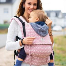 Limas Flex Sunshine porte bébé en coton bio