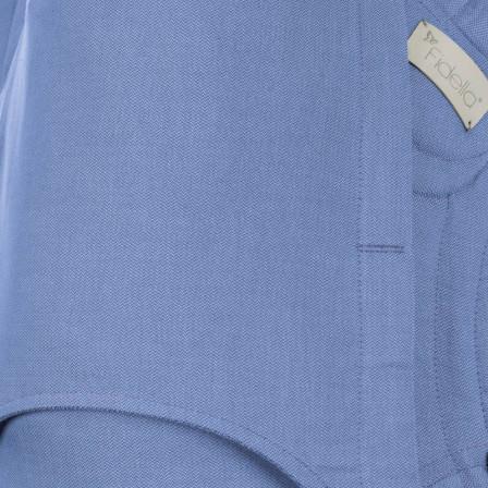 Fidella Fly Tai Chevron bleu Porte-bébé Meï-taï taille bambin