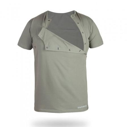 Naturioù T-shirt peau-à-peau pour homme