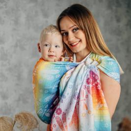 Lennylamb Sling Dragonfly Rainbow - Écharpe de Portage Sling