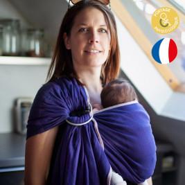 Néobulle Sling Myrtille coton bio - Écharpe de Portage Sling