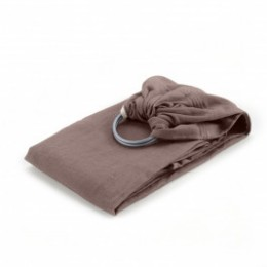 Néobulle Sling Marron Cappuccino coton bio - Écharpe de Portage Sling