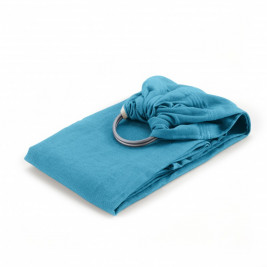 Néobulle sling Bleu Denim coton bio - Écharpe de Portage Sling
