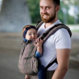 Kinder Hop Multi Soft Mystic Gold porte-bébé évolutif