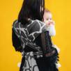Fidella Fly Tai Giraffe Anthracite Porte-bébé Meï-taï taille bambin