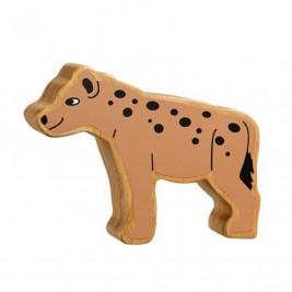 Hyène en bois Lanka Kade