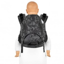 Fidella Fusion 2.0 Fullbuckle Wolf Anthracite toddler carrier
