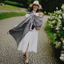 Little Frog Ring Sling - Carbon Harmony