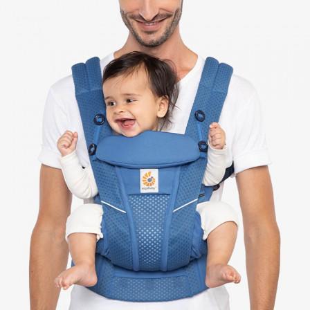 Ergobaby Omni Breeze Bleu Saphir, porte-bébé