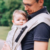 Limas Plus Ozeana Linen porte bébé physiologique en coton et lin