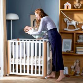 KinderKraft Koya - Lit bébé évolutif 4 en 1 en bois