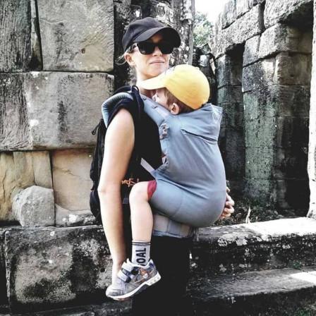 Ling Ling d'Amour P4 Preschool Eucalyptus - Porte-bébé