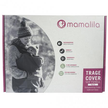 Mamalila couverture de portage Evolutive Softshell Vario Noir
