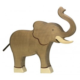 Animaux En Bois Dauphin Sautant Figurine Holztiger