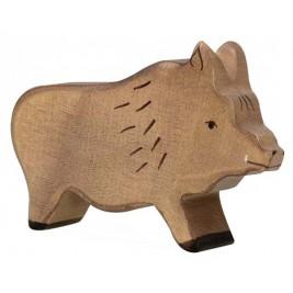 Sanglier en bois Holztiger