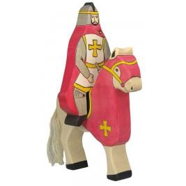 Chevalier rouge avec manteau à cheval Holztiger