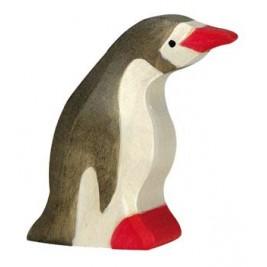 Petit pingouin tête en avant Holztiger