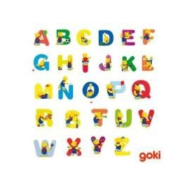 Pretty wooden letters Goki