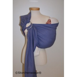 Storchenwiege Ring Sling Leo Lilac