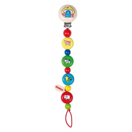 Hang pacifiers animals from the farm Heimess