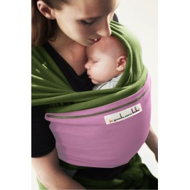 The original JPMBB Baby Wrap Pistachio, pocket Parma