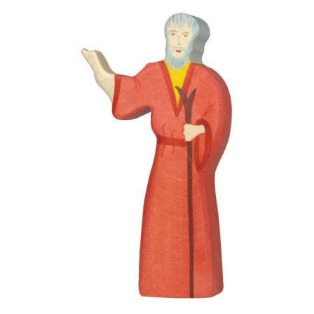 Noé figurine en bois Holztiger