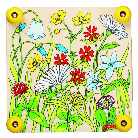 Press-flower Meadow in the wood by Goki