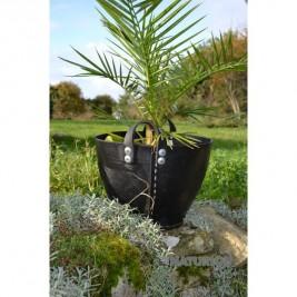 panier en pneu recyclé Tadé plantes