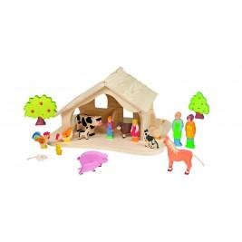 Wooden doll's house Holztiger