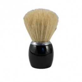 Badger shaving wood black Lacquered tadé