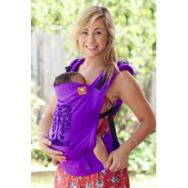Baby carrier TULA Standard Hummingbirds purple
