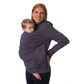 Boba Hoodie Gris - Sweat-shirt de Portage