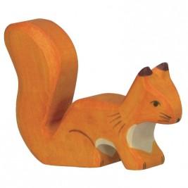 Ecureuil debout roux Holztiger