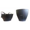 Grand cache pot H50 comparé au cabas Tadé