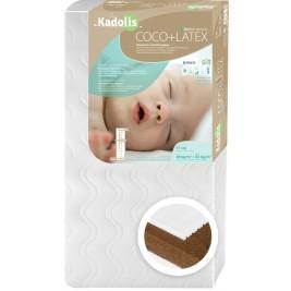 Mattress, Baby Coconut Latex 60 x 120 cm Kadolis