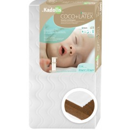 Mattress, Baby Coconut Latex 60 x 120 cm Kadolis