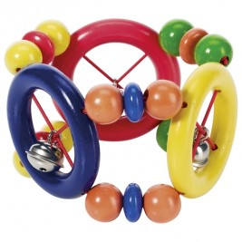 Rattle flexible with rings Heimess