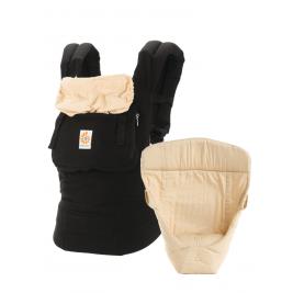 Nouveau Pack évolutif Ergobaby original Noir Beige