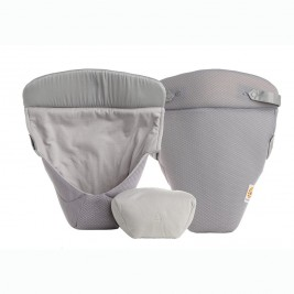 Ergobaby Coussin Easy Snug Cool Air Mesh Gris