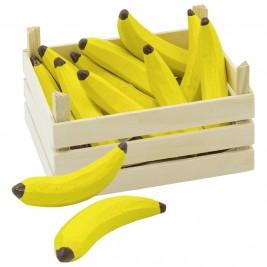 Crate of Bananas wood Goki