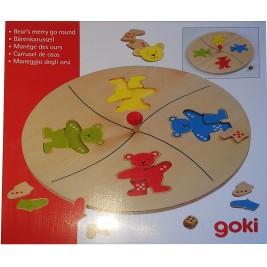 Le manège des ours de Goki