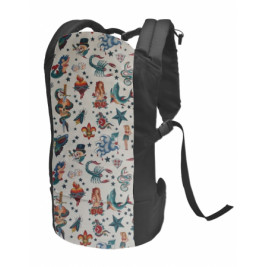 Rose and rebellion Baby Carriers Rockabilly
