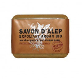 Alep soap exfoliating Argan bio tadé