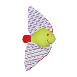 Doudou just you Max the Batfish in organic cotton